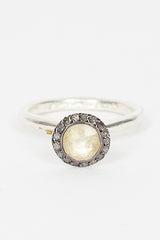 Belquis Yellow Quartz Ring