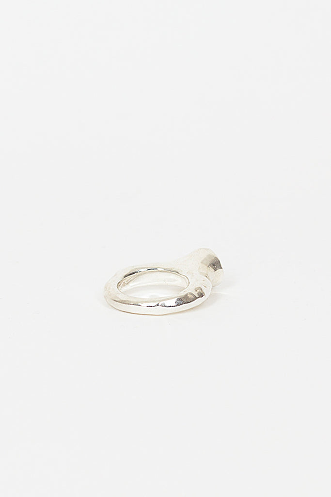 Berry Silver/Quartz Ring