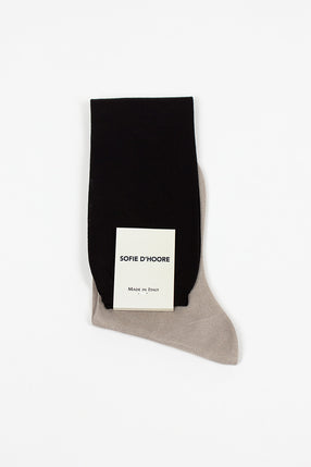 Farber Knee High Black Sock