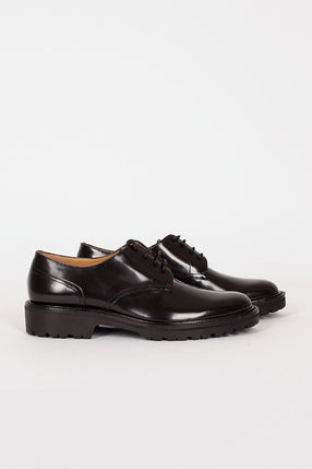 Black Derby Lace Up