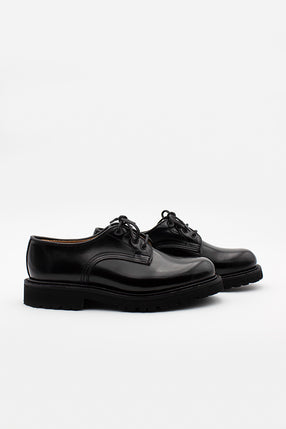 Black Bookbinder Derby Lace Up