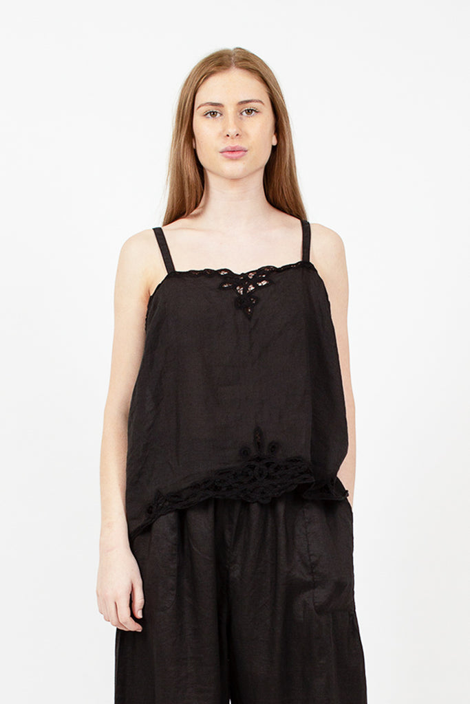 Black Lace Camisole