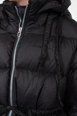 Black Down Puffer Jacket
