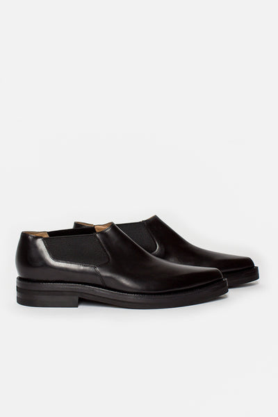 Black Slip On Chelsea