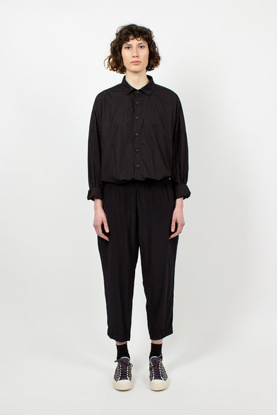 Black Silk Trouser