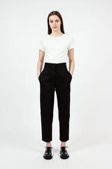 MHL Notch Waist Black Trousers