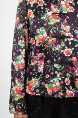 Japanese Style Floral Blouse