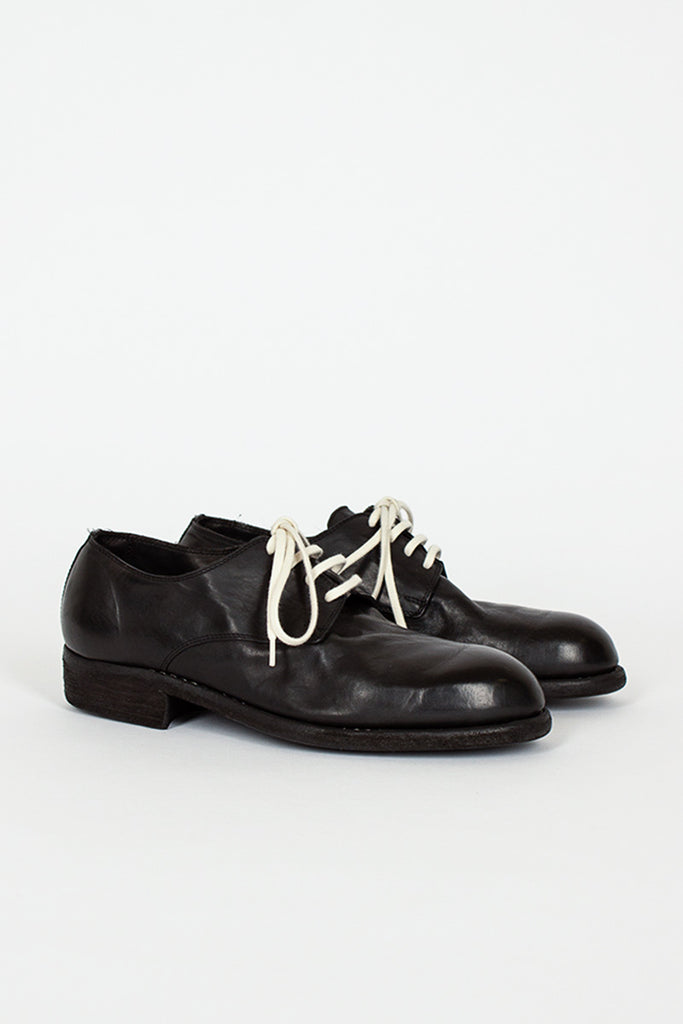 112 Black Derby Shoe