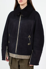 CLOSED X Nigel Cabourn Sheepskin Reversible Pilot Jacket