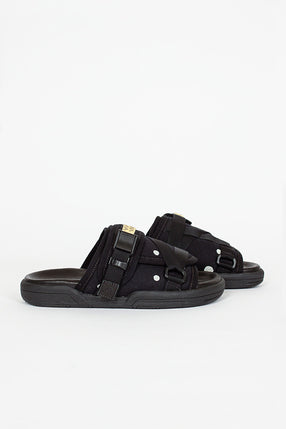 Christo Black Spot Sandal