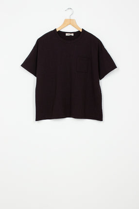 Wide Black T-shirt