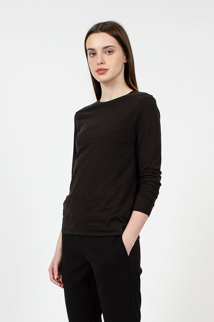LS Black Mini Boy Tee