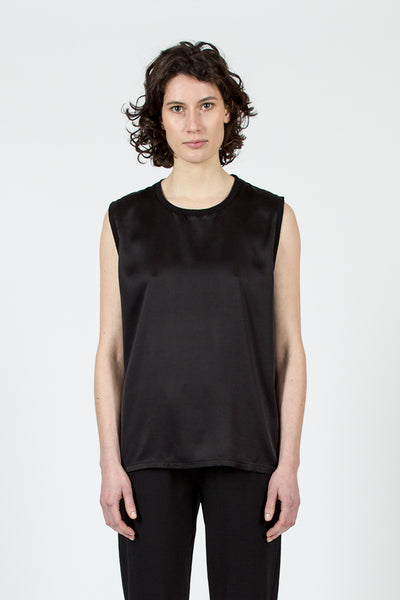 Black Silk Muscle T