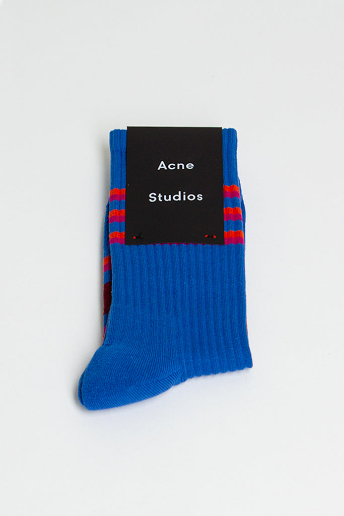 Striped Socks Blue Multicolour