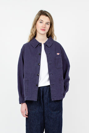 French Blue Workman's Jacket