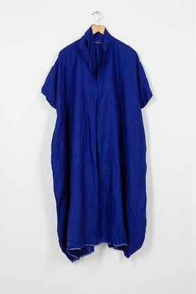 Electric Blue Cocoon Dress