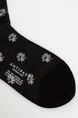 Edelweiss Ankle Sock Black
