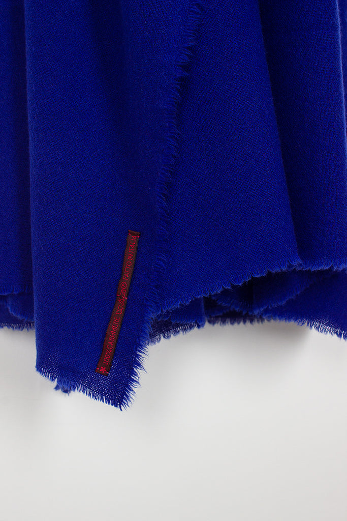 Electric Blue Shawl