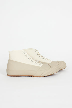 All Weather Beige High Sneaker