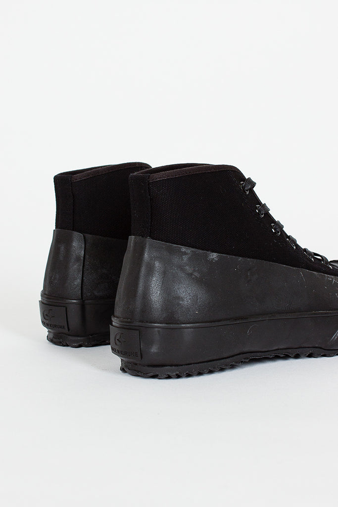 All Weather Black High Sneaker