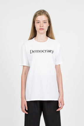 Democrazy Boy T New White