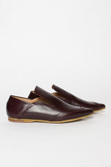 Burgundy Loafer