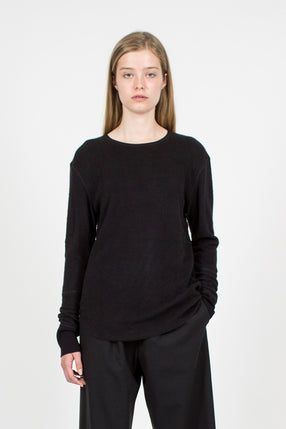 Brushed Thermal Top Black