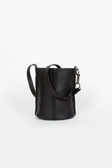 Market Black Bucket Bag