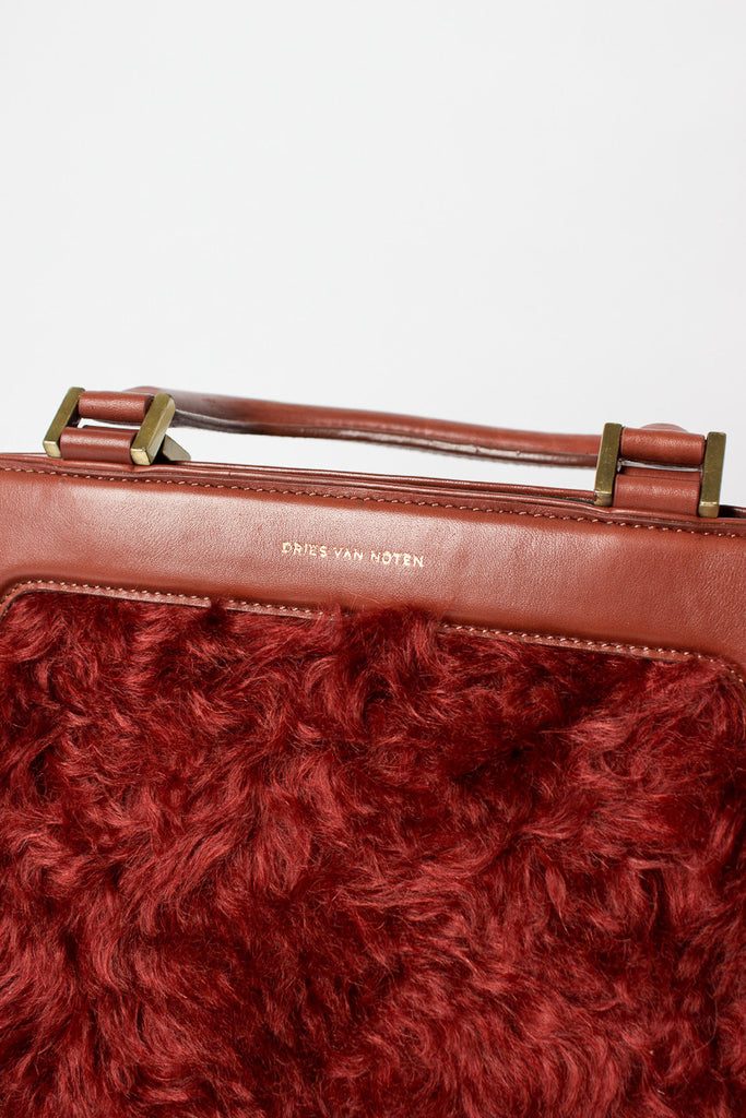 Rust Top Handle Bag