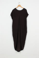 PCD18 Black Cocoon Dress