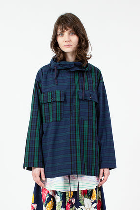 Blackwatch Check Cagoule Shirt