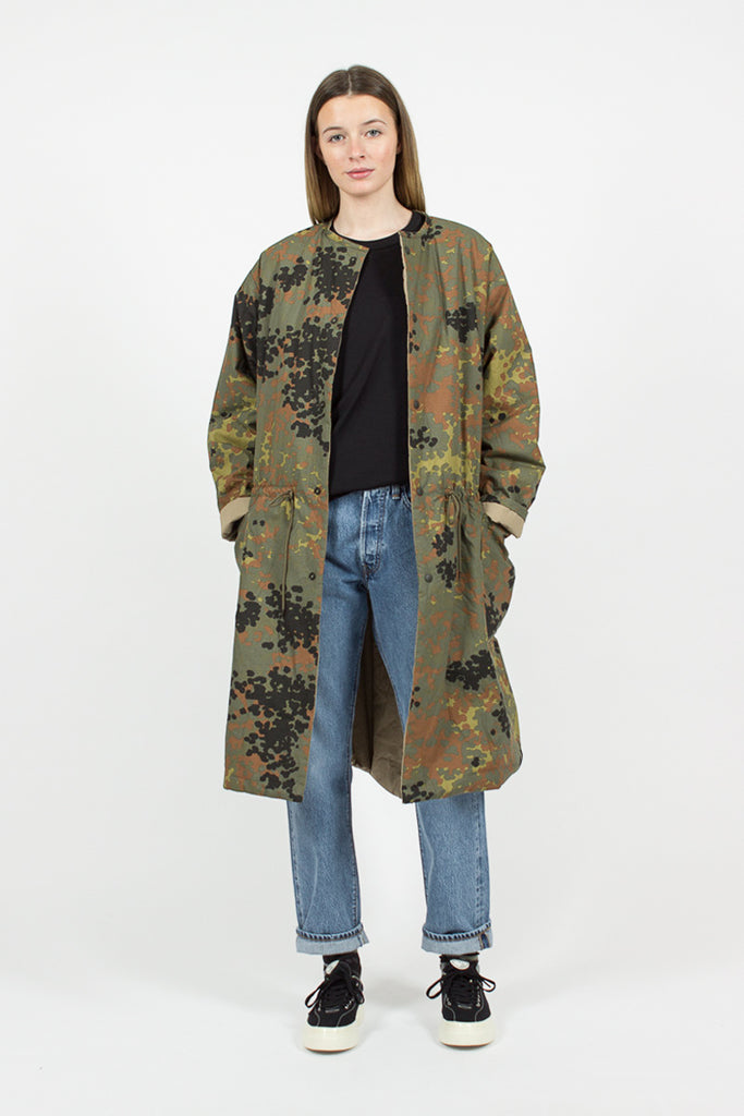 Dot Camo/Khaki Reversible Coat
