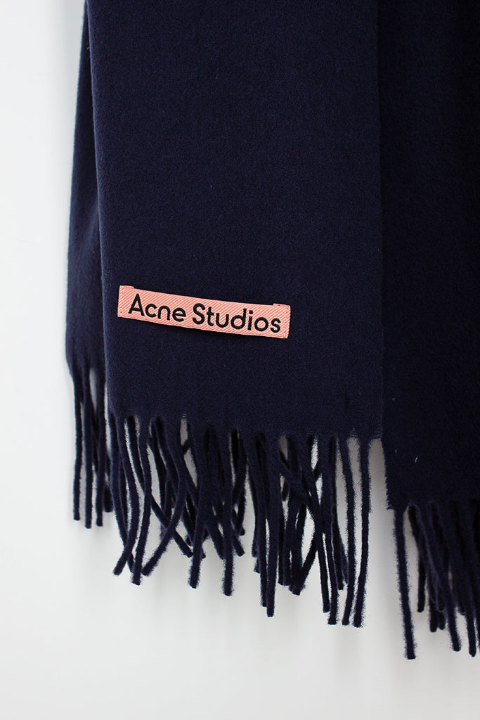 Dark Navy Canada New Scarf