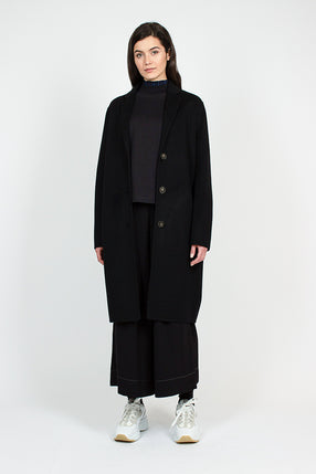 Avalon Doublé Coat Black