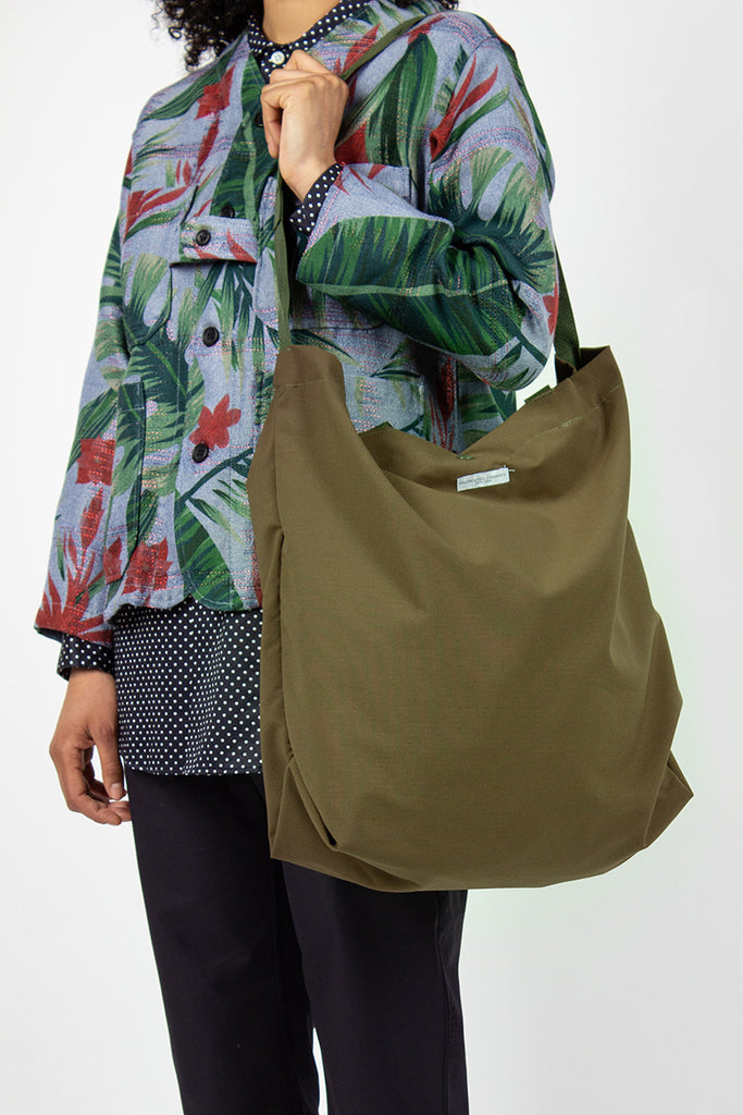 Carry All Tote Cotton Ripstop Olive