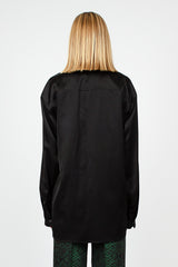 Carwy Long Sleeve Black Shirt