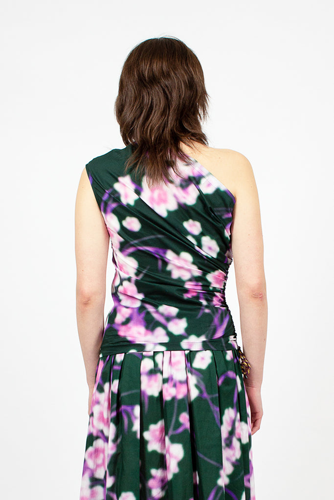 Floral Single Shoulder Top