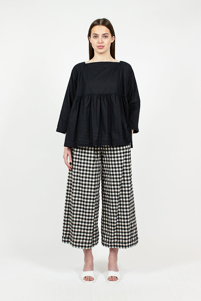 Large Check Trousers