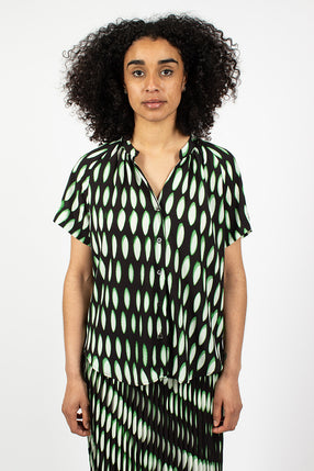 Chen Shirt Black/Green