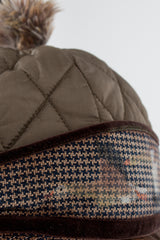 Quilted Donkey Cap