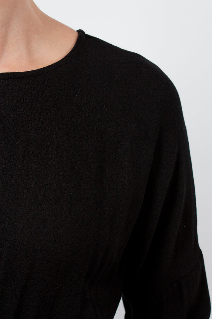 Wide Black Jumper