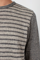 Flax Striped T-Shirt