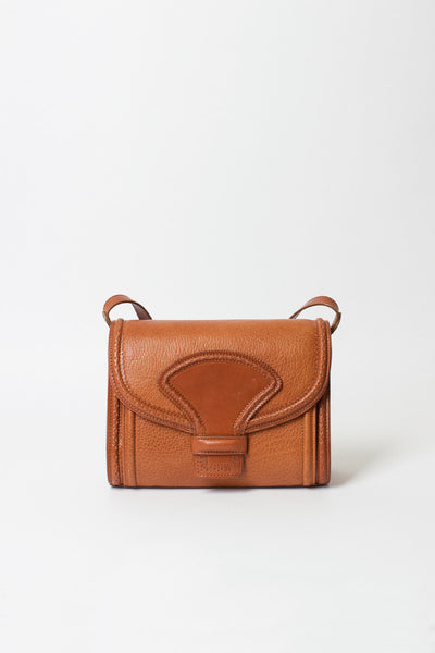 Cognac Messenger Bag