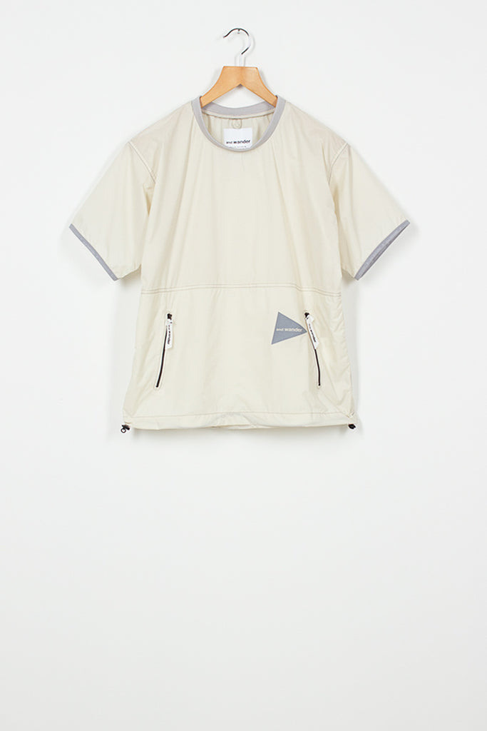 Off White Pertex Top