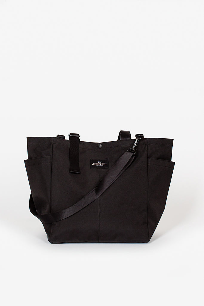 B.I.P. Black Side Pocket Tote