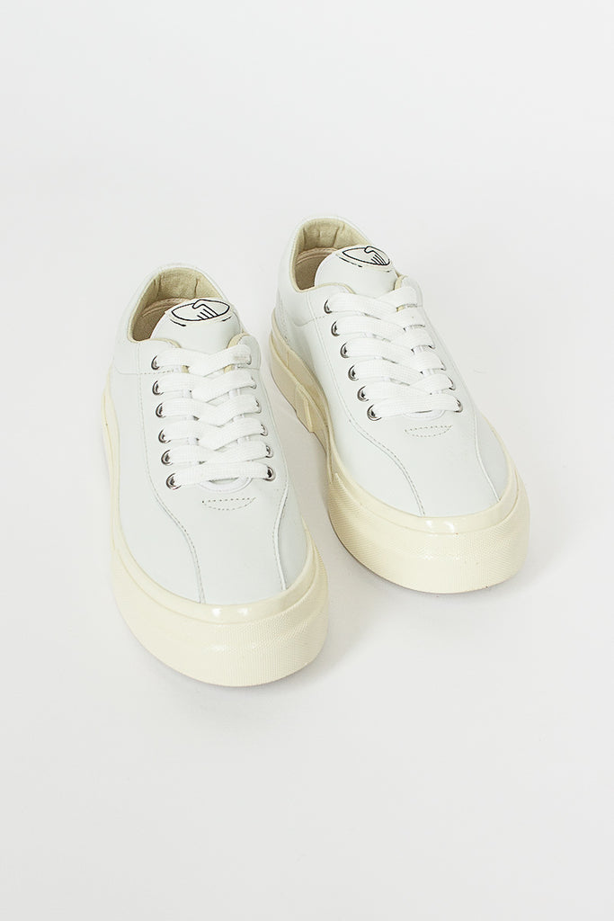 Dellow Leather White