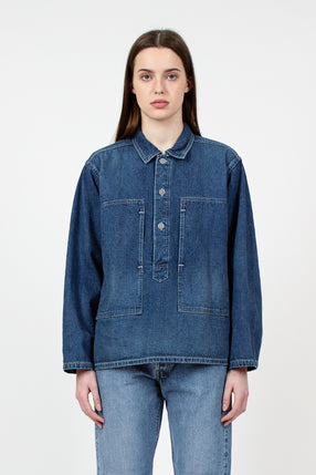 Pullover Used Denim Shirt