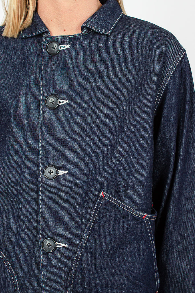 Apple Man 12oz X 8oz Denim Jacket