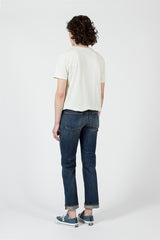 Dark Wash Straight Leg Jean