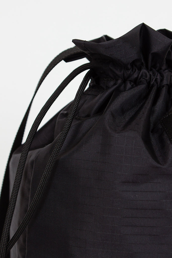 B.I.P Black Mini Drawstring Shoulder Bag